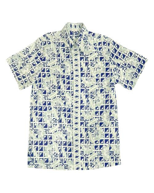 Standard Short Sleeves Shirt - Batik 8