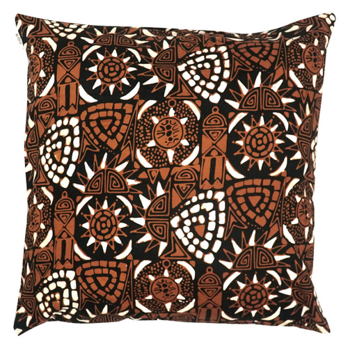 Cushion Cover (2 Pcs) - Asmat in Cocoa new