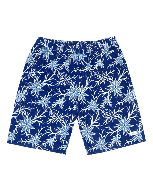 Half Pants - Summer Blooms on Navy