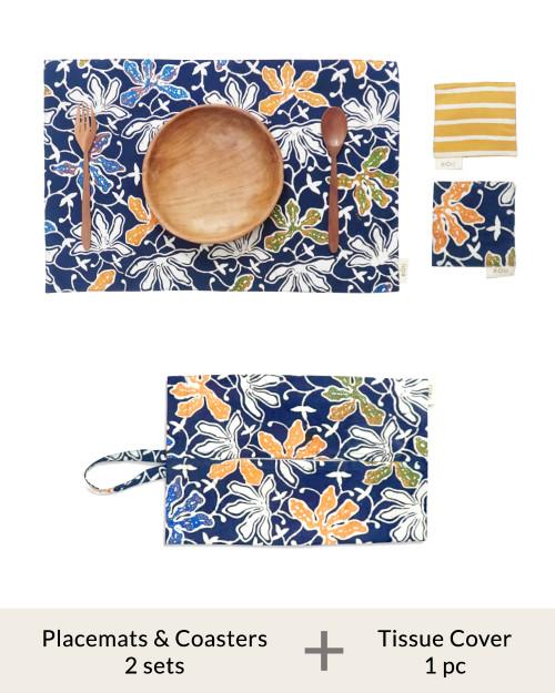 Home Items Bundle Set A - Batik 2
