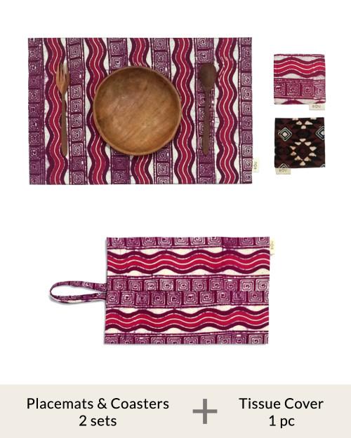 Home Items Bundle Set A - Batik 5