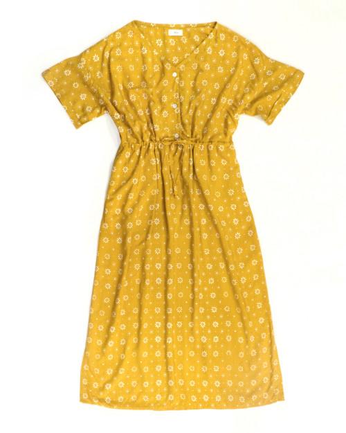 Home Dress - Truntum Mustard