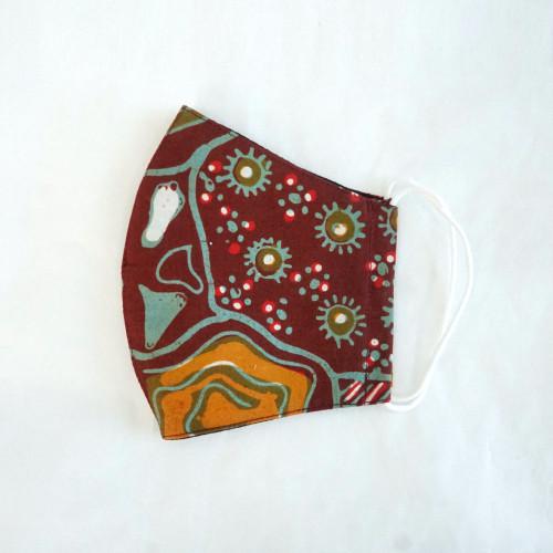 Reusable Face Mask - Batik 22