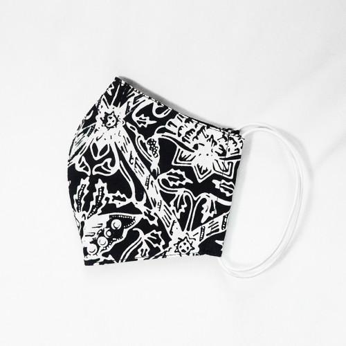 Reusable Face Mask - Batik 34