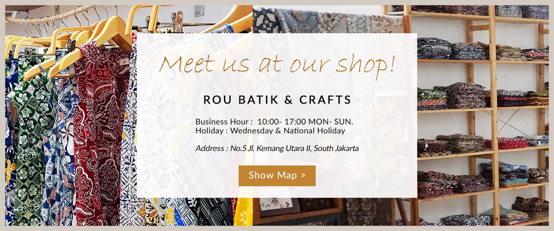 ROU Batik Offline Store