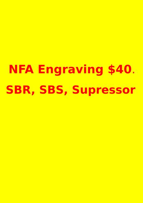 NFA Engraving