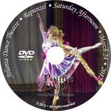 Atlanta Dance Theatre Rapunzel and Remember Me: Saturday 3/24/2012 2:00pm Rapunzel only DVD