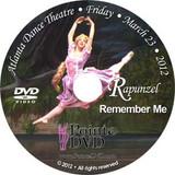 Atlanta Dance Theatre Rapunzel and Remember Me: Friday 3/23/2012 7:30pm DVD
