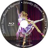 Atlanta Dance Theatre Rapunzel and Remember Me: Saturday 3/24/2012 2:00pm Rapunzel only Blu-ray