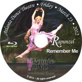 Atlanta Dance Theatre Rapunzel and Remember Me: Friday 3/23/2012 7:30pm Blu-ray