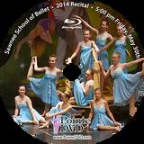 Sawnee School of Ballet 2014 Recital : Fri 5/30/2014 5:00 pm Blu-ray