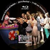 Sawnee School of Ballet 2014 Recital : Sat 5/31/2014 11:00 am Blu-ray