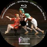 Sawnee School of Ballet 2014 Recital : Sat 5/31/2014 5:00 pm Blu-ray