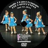Studio 1 Dance Company 2014 Recital: Saturday 5/17/2014 3:00 pm DVD