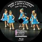 Studio 1 Dance Company 2014 Recital: Saturday 5/17/2014 3:00 pm Blu-ray