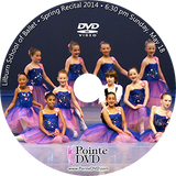 2014 Recital and Coppelia: Lilburn Recital Sunday 5/18/2014 6:30 pm DVD