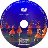 Gainesville School of Ballet 2014 Recital: Sunday 5/18/2014 2:00 pm wide angle only DVD