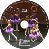 Gainesville School of Ballet 2014 Recital: Sunday 5/18/2014 2:00 pm close-up and wide angles Blu-ray