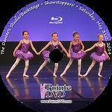 Dancer's Studio Backstage 2014 Recital: Saturday 5/31/2014 2:00 pm Show Stoppers Blu-ray