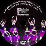 North Atlanta Dance Academy 2014 Recital: Saturday 5/31/2014 2:30 pm Show 1 DVD