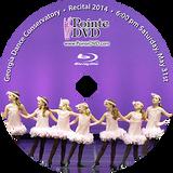 Georgia Dance Conservatory 2014 Recital: Saturday 5/31/2014 6:00 pm Blu-ray