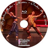 Sugarloaf Ballet Aladdin 2014: Best of all three performances 10/11/2014-10/12/2014. Blu-ray