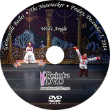 Gainesville Ballet The Nutcracker 2014: Friday 12/5/2014 7:30 pm Wide Only DVD
