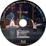 Gainesville Ballet The Nutcracker 2014: Friday 12/5/2014 7:30 pm Wide Only Blu-ray