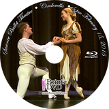 Sawnee Ballet Theatre Cinderella 2015: Sunday 2/15/2015 5:00 pm Blu-ray