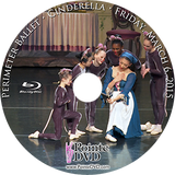 Perimeter Ballet Cinderella 2015: Friday 3/6/2015 7:30 pm Blu-ray