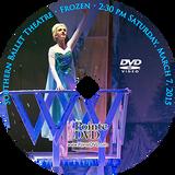 Southern Ballet Theatre Frozen 2015: Saturday 3/7/2015 2:30 pm DVD