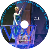 Southern Ballet Theatre Frozen 2015: Saturday 3/7/2015 2:30 pm Blu-ray