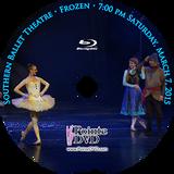 Southern Ballet Theatre Frozen 2015: Saturday 3/7/2015 7:00 pm Blu-ray