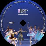 Northeast Atlanta Ballet Cinderella 2015: Saturday 3/14/2015 2:00 pm DVD