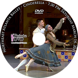 Northeast Atlanta Ballet Cinderella 2015: Saturday 3/14/2015 7:30 pm DVD
