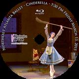 Northeast Atlanta Ballet Cinderella 2015: Friday 3/13/2015 7:30 pm Blu-ray
