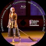 Northeast Atlanta Ballet Cinderella 2015: Saturday 3/14/2015 10:00 am Blu-ray