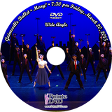 Gainesville Ballet Mary! 2015: Fri 3/20/2015 7:30 pm Wide angle only DVD