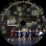 Gwinnett Ballet Theatre Journey 2015: Sunday 3/29/2015 Blu-ray