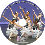 Tumble 'N Dance 2015 Recital: Tuesday 6/9/2015 7:00 pm DVD