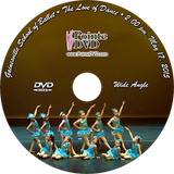 Gainesville School of Ballet 2015 Recital: 2:00 pm Sunday 5/17/2015 Wide Angle Only DVD