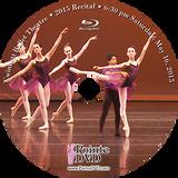 Gwinnett Ballet Theatre 2015 School Recital: 6:30 pm Saturday 5/16/2015 Blu-ray