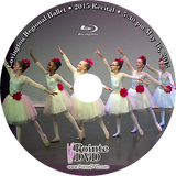 Covington Regional Ballet 2015 Recital: 5:30 pm Saturday 5/16/2015 Blu-ray