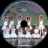 North Atlanta Dance Academy 2015 Recital: Pre-Ballet Mini Show:  11:00 am Saturday 5/30/2015 DVD
