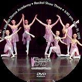 North Atlanta Dance Academy 2015 Recital: Show Three:  3:30 pm Sunday 5/31/2015 DVD