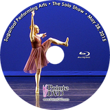 Sugarloaf Performing Arts 2015 Recital: Solo Show 5/28/2015 5:00 pm Blu-ray