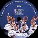 Georgia Dance Conservatory 2015 Recital: Sunday 5/31/2015 3:00 pm DVD