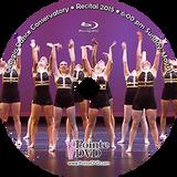 Georgia Dance Conservatory 2015 Recital: Sunday 5/31/2015 6:00 pm Blu-ray