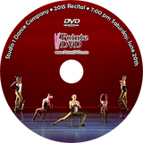 Studio 1 Dance Company 2015 Recital: 7:00 pm Saturday 6/20/2015 DVD