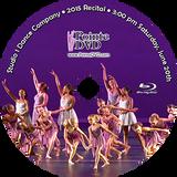 Studio 1 Dance Company 2015 Recital: 3:00 pm Saturday 6/20/2015 Blu-ray